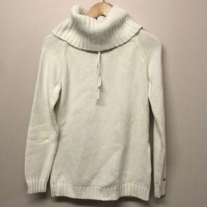 Tommy Hilfiger white turtle neck sweater